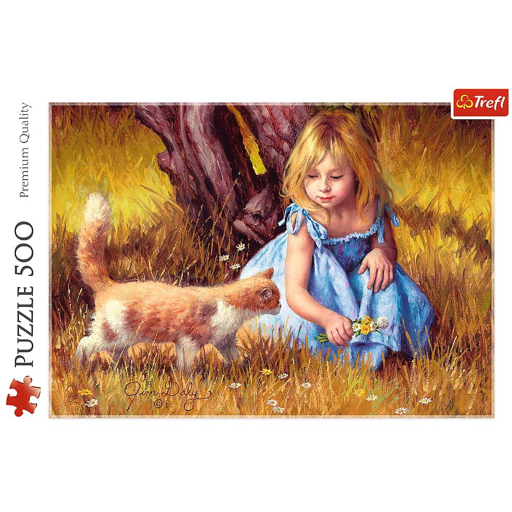 Puzzle Trefl 500 Copilarie