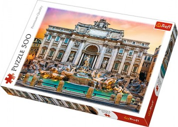 Puzzle Trefl 500 Fontana di Trevi Roma