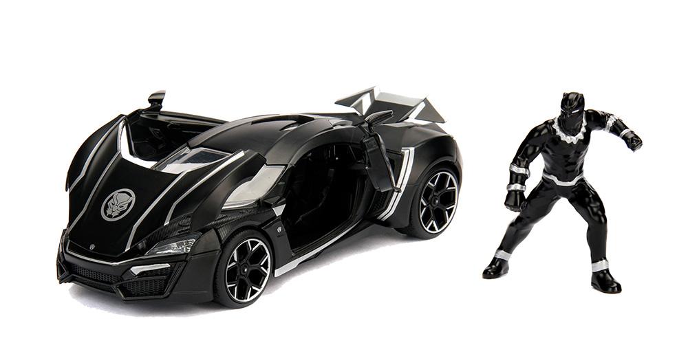 Macheta metalica Black Panther & Lykan Hypersport