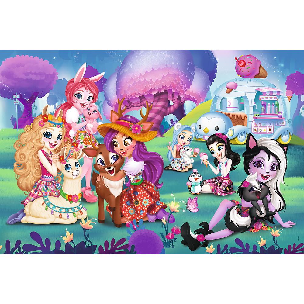 Puzzle Trefl 24 Maxi Familia Enchantimals