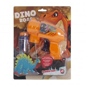 Pistol pentru baloane de sapun dinozauri