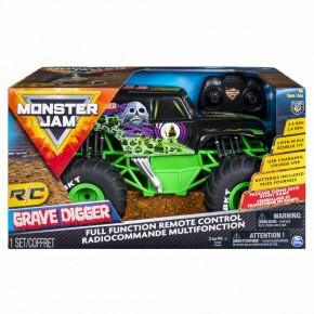 Monster Jam RC Grave Digger scara 1:15