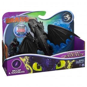 Dragons 3 Set Dragon Stirbul cu figurina Hiccup