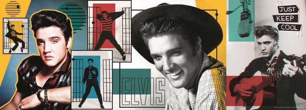 Puzzle Trefl - Colaj Elvis Presley - 500 piese