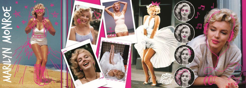 Puzzle Trefl - Colaj Marilyn Monroe - 500 piese