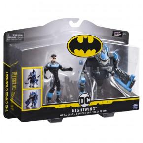 Figurina Nightwing 10 cm cu mega accesorii pentru lupta