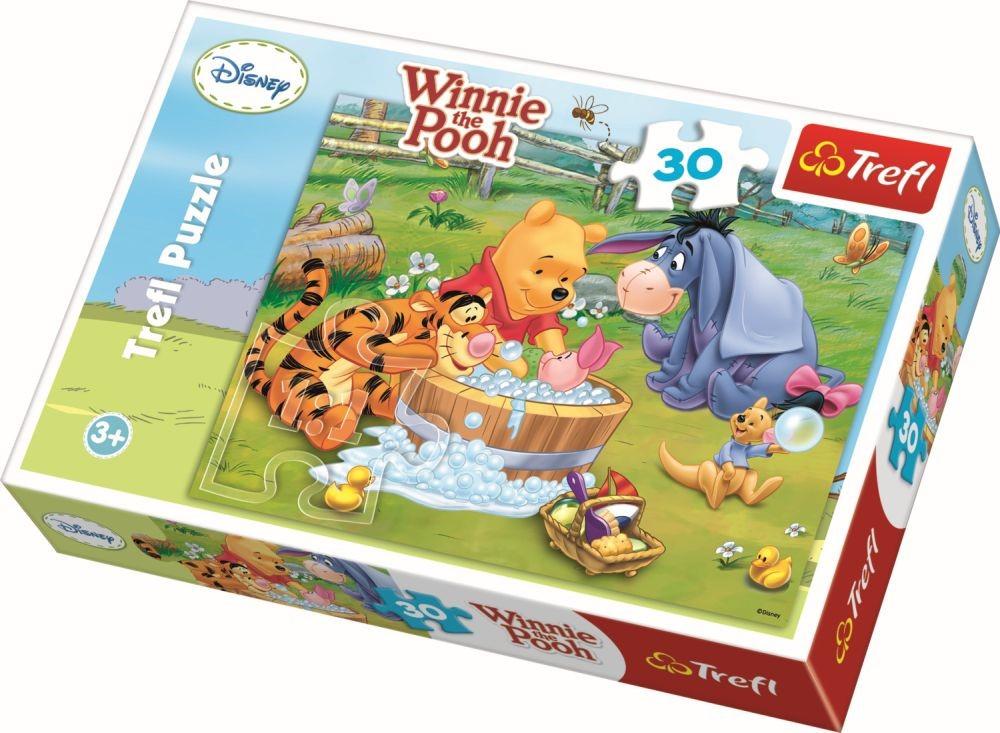 Puzzle Trefl - Piglet face o baita - 30 piese