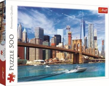 Puzzle Trefl 500 Priveliste din New York