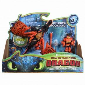 Dragons 3 Hookfang si Viking Snotlout