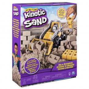 Kinetic Sand Set pentru constructii 2in1
