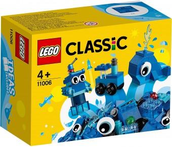 Lego Classic Caramidute creative albastre 11006