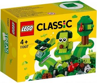 Lego Classic Caramidute creative verzi 11007
