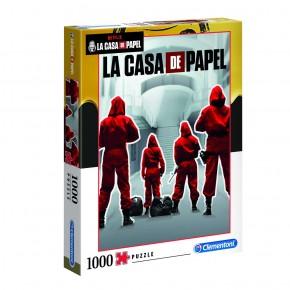 Puzzle La Casa de Papel 1000 de piese Clementoni