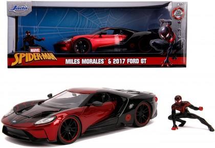 Masinuta metalica Spiderman Ford GT 2017 Milles Morales