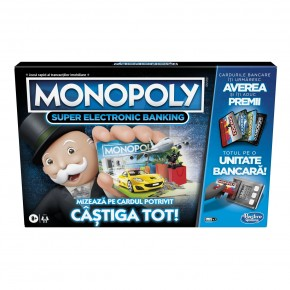 Monopoly Super Electronic Banking - castiga tot!