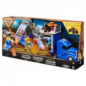 Monster Jam Set de joaca Camionul convertibil in arena