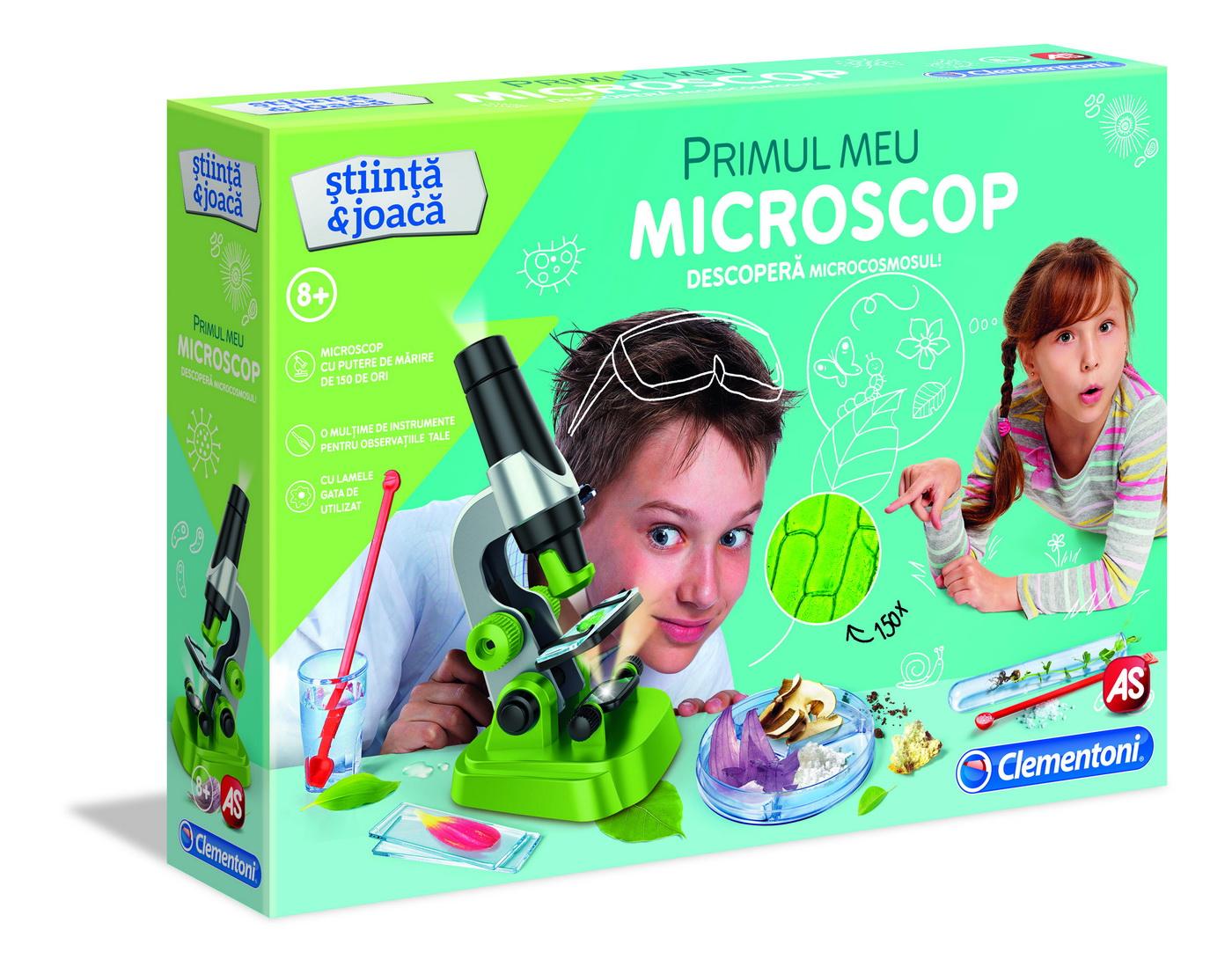 Joc Primul meu microscop