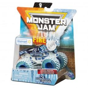 Monster Jam Masinuta metalica fire and ice Northern Nightmare