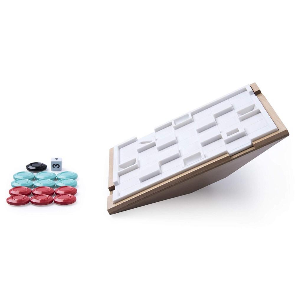 Joc de strategie 3D Marbles Tipsy din lemn