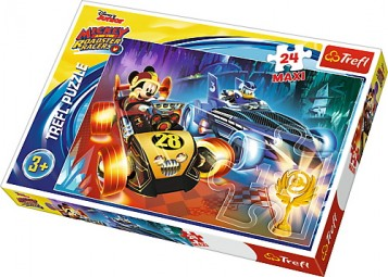 Puzzle Trefl Maxi - Gustul Aventurii - 24 piese