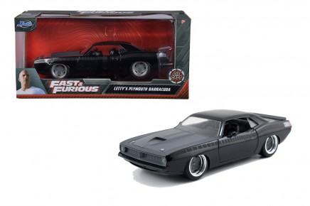 Masinuta metalica Fast and Furious 1970 Plymouth scara 1 la 24