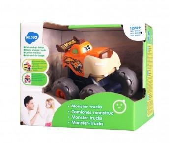 Masinuta bebe monster truck Leopardul Infuriat