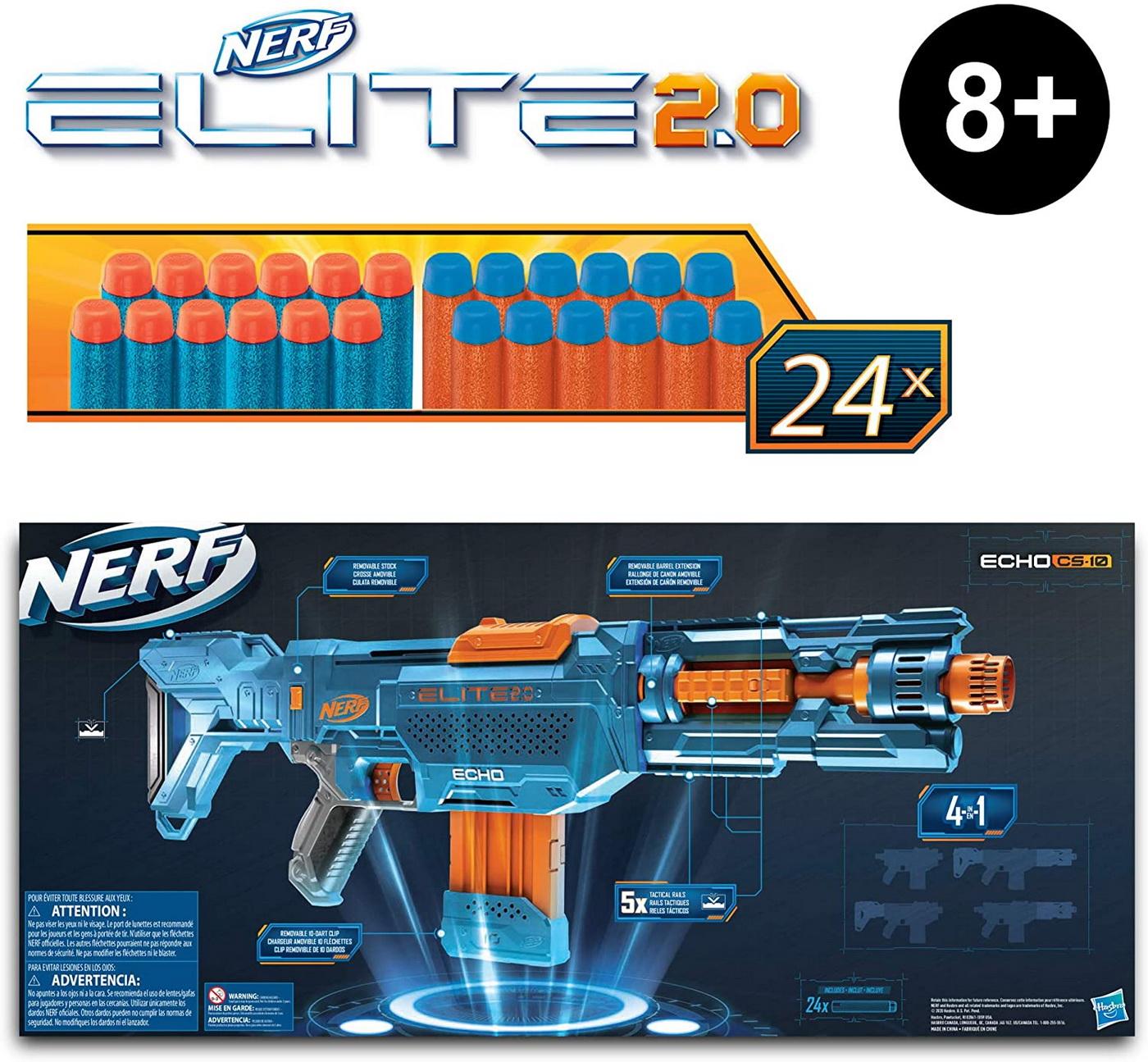 Nerf Blaster 2.0 Elite Echo CS-10