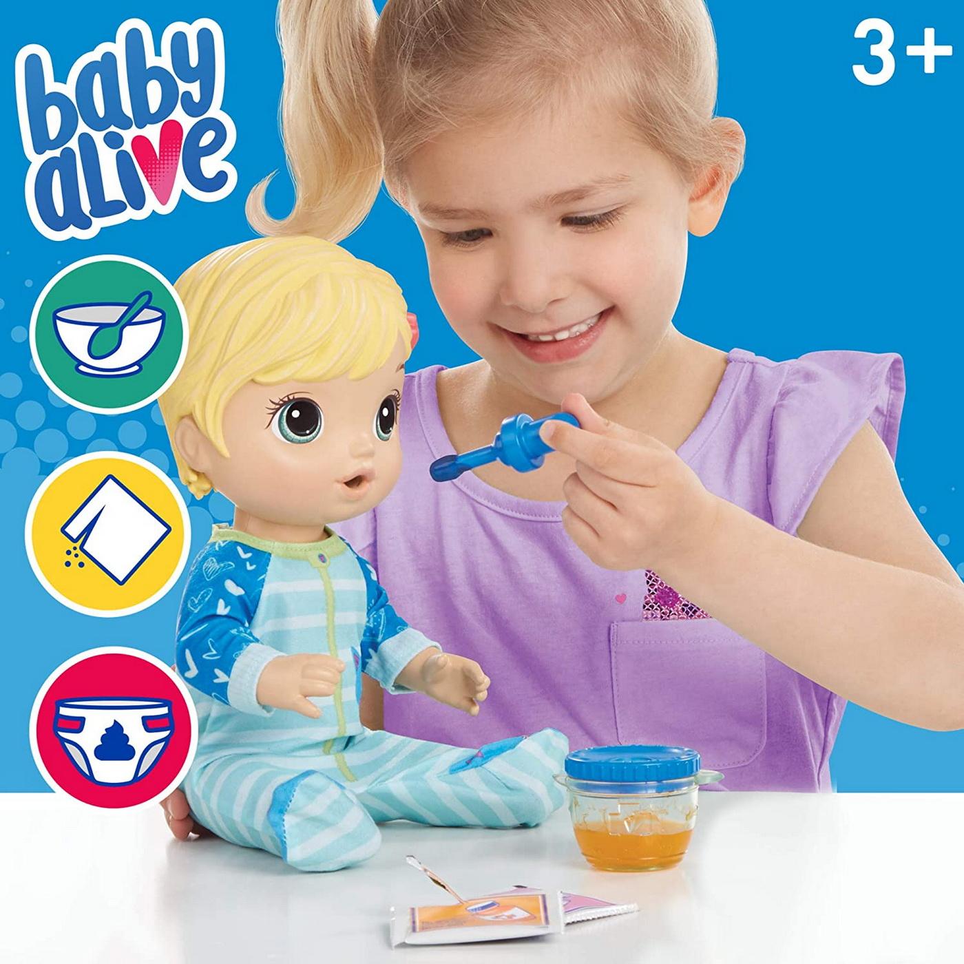 Papusa Baby Alive cu medicamente de preparat