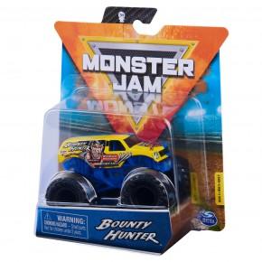 Monster Jam masinuta metalica Bounty Hunter scara 1 la 64