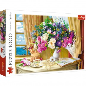 Puzzle Trefl 1000 Fllowers in the morning