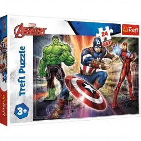 Puzzle Trefl 24 Maxi Eroi Avengers