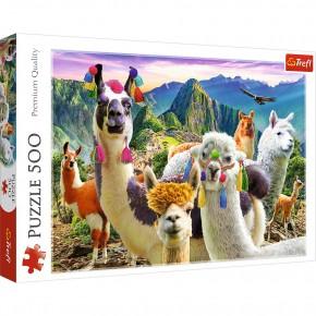 Puzzle Trefl 500  Lame in munti
