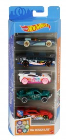 Set 5 masini Hot Wheels Design Lab