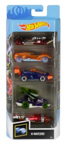Set 5 masini Hot Wheels X-Raycers