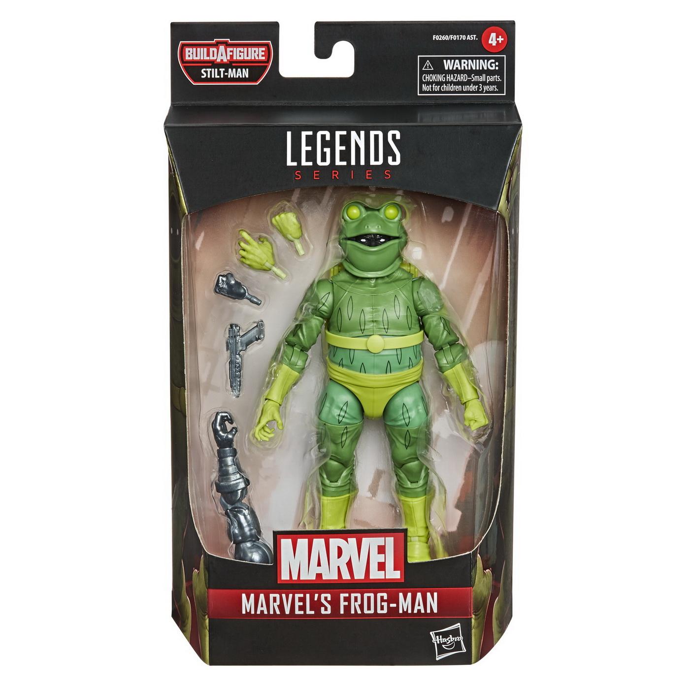 Spider-man legends Figurina Omul broasca