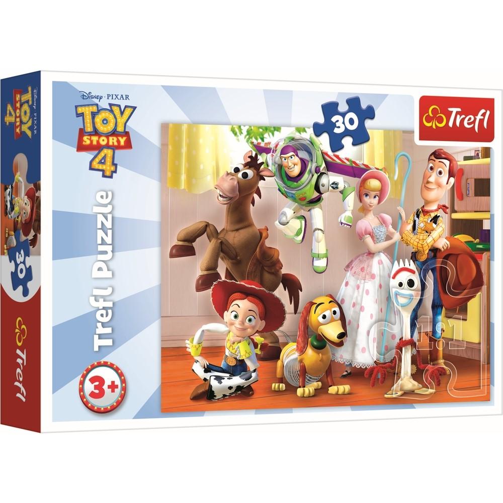 Puzzle Toystory4 pregatiti de joaca Trefl 30