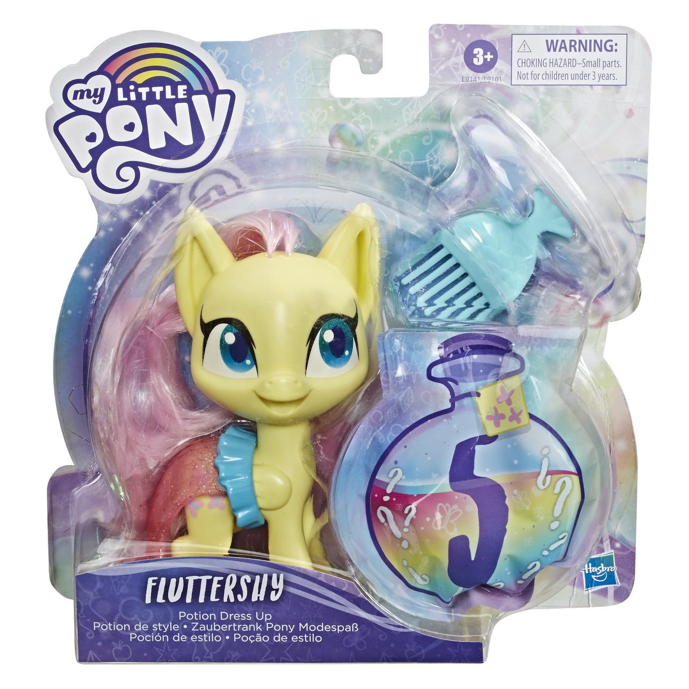 My Lttle Pony Poneiul Fluttershy potion dress up