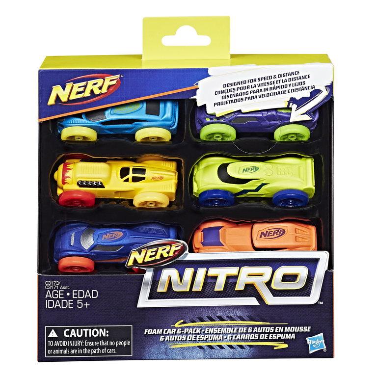 Pachet 6 masinute nitro
