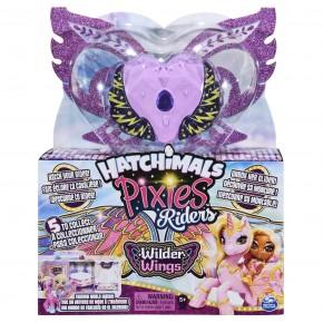 Hatchimals Set de joaca cu Fgurine Pixies Riders violet