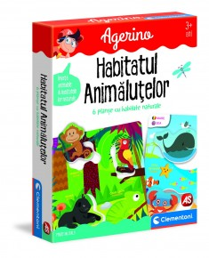 Joc educativ Agerino animalutele si habitatele lor