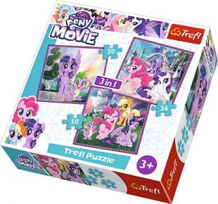 Puzzle Trefl 3in1 Magia Prieteniei