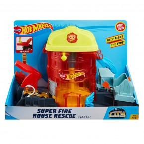 Hot Wheels City Delux Sediul central al pompierilor