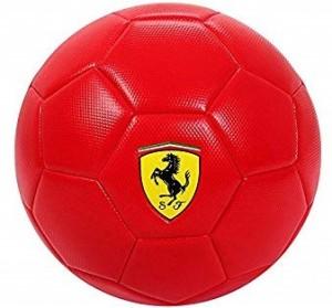Minge de fotbal Ferrari Rosie Marimea 5 editie limitata