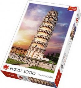 Puzzle turnul din Pisa trefl 1000