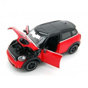 Masinuta metalica Minicooper rosu scara 1 la 24