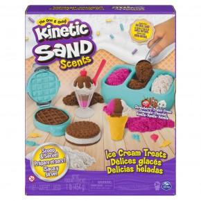 Kkinetic Sand Set inghetata si prajiturele colorate si parfumate