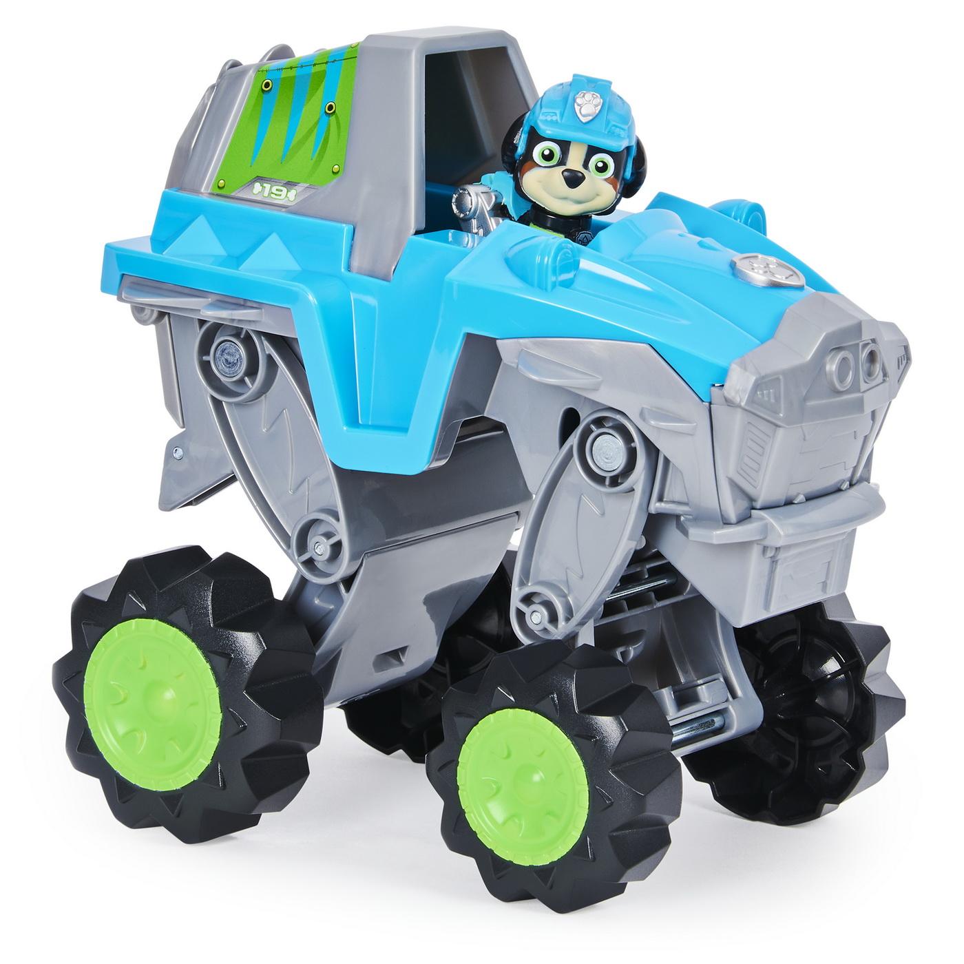 Patrula Catelusilor Vehicul Dino cu catelusul Rex