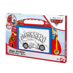 Tabla magnetica Magic Scribbler Medium Cars