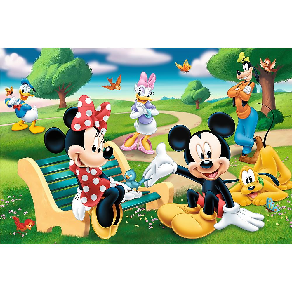 Puzzle Trefl 24 Maxi Mickey Mouse intre prieteni