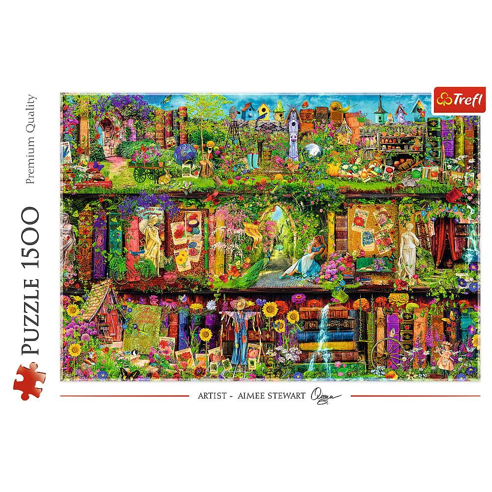 Puzzle Trefl 1500 Fairy Bookcase Aimee Stewart
